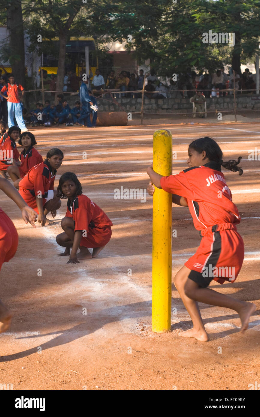 how to play kho kho indian game