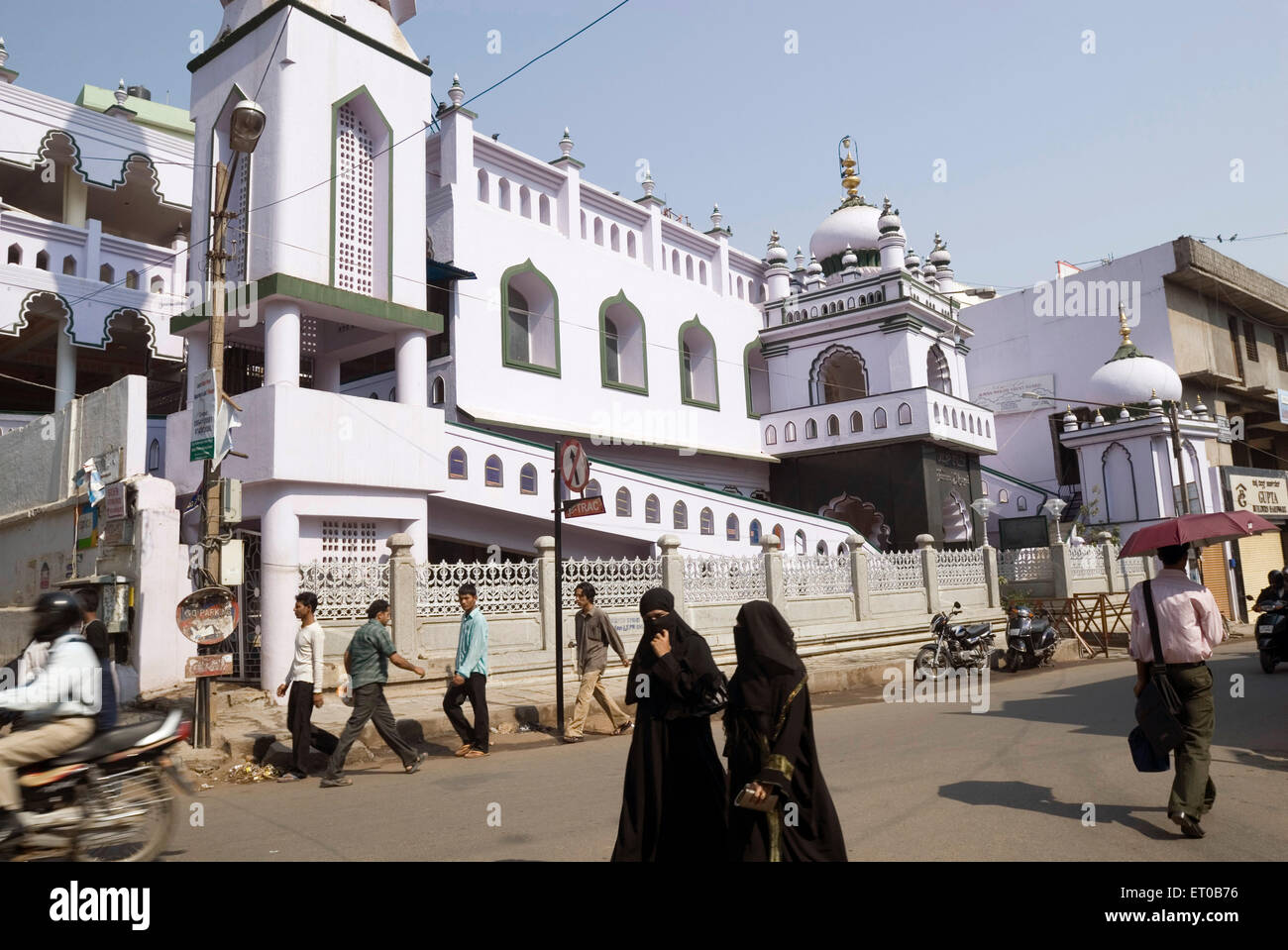 Juma Masjid in Shivajinagar ; Bangalore ; Karnataka ; India - Stock Image