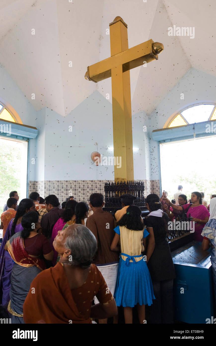 Gold Cross of Muthappan Ponnin Kurusu Muthappan at