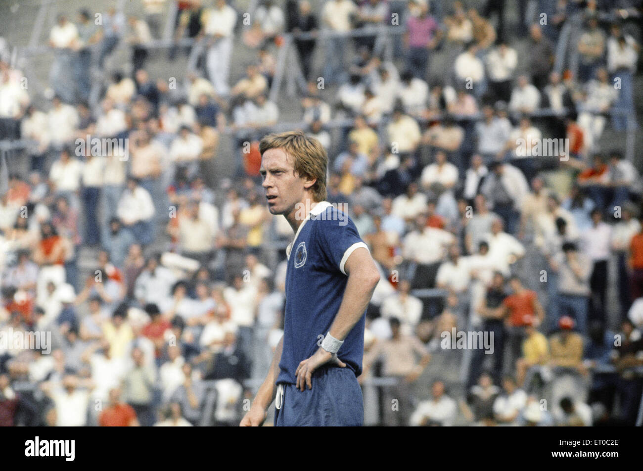 Charlton Athletic v Leicester City.  Steve Whitworth of Leicester. 14th August 1976. - Stock Image