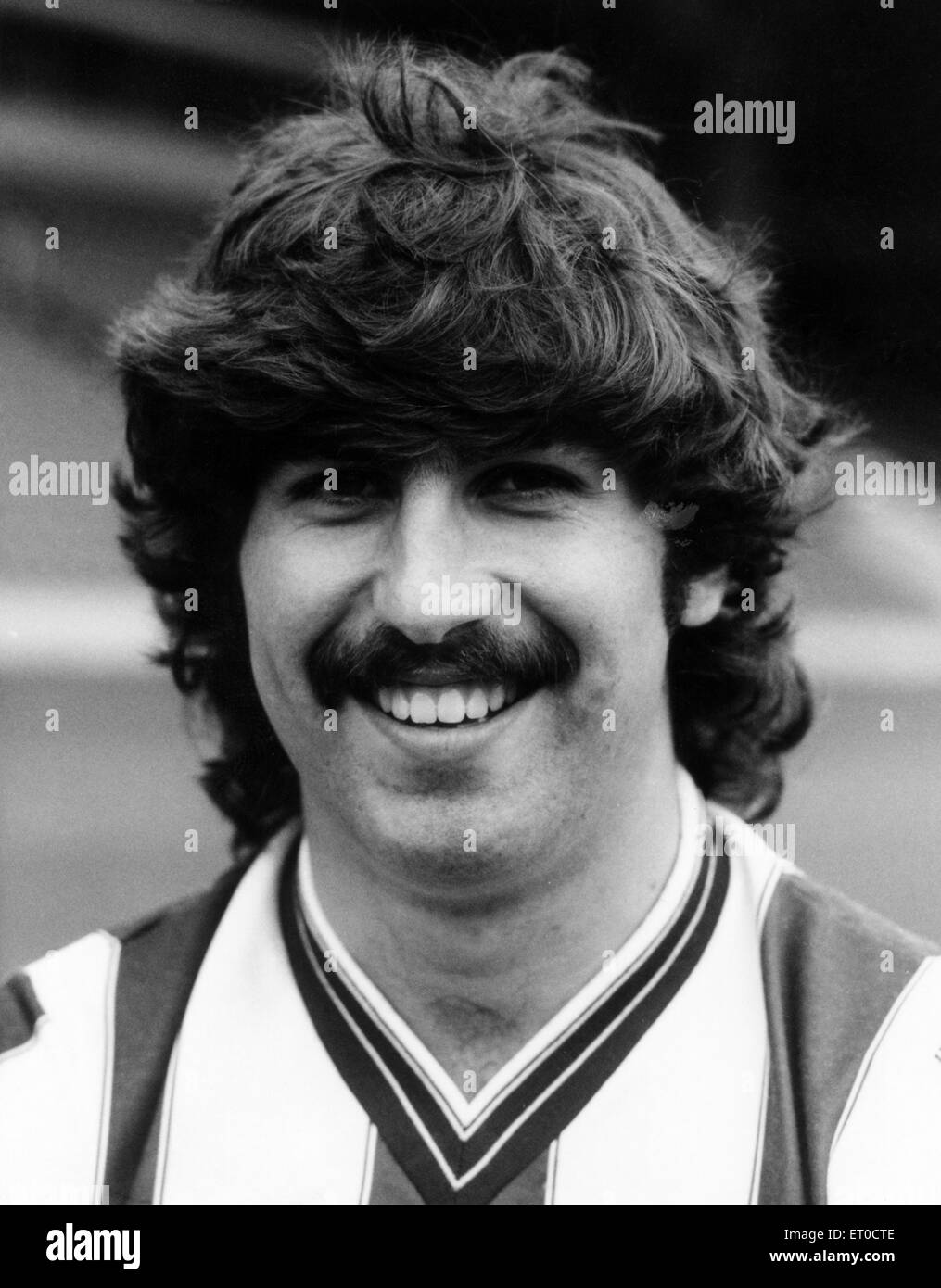 Steve MacKenzie, West Bromwich Albion Football Player, 6th August 1984. - Stock Image