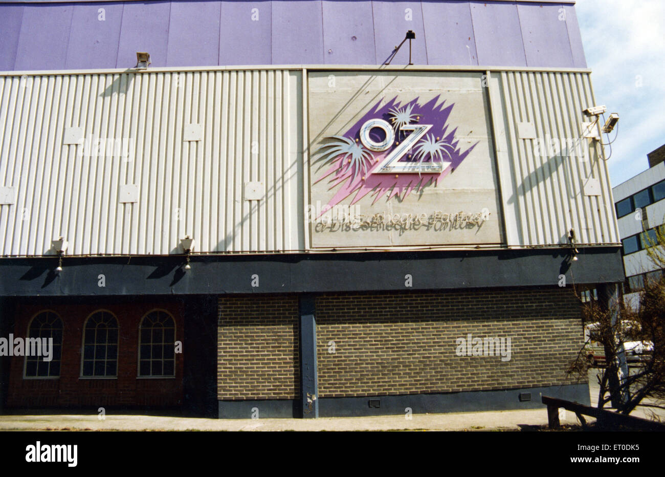 Oz nightclub in South Shields, Tyne and Wear. 9th June 1994. - Stock Image