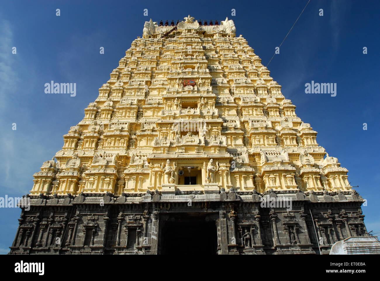 Sri Ekambaranathar Temples in  ;  kanchipuram  ; kancheepuram  ; Tamil Nadu  ; India Stock Photo