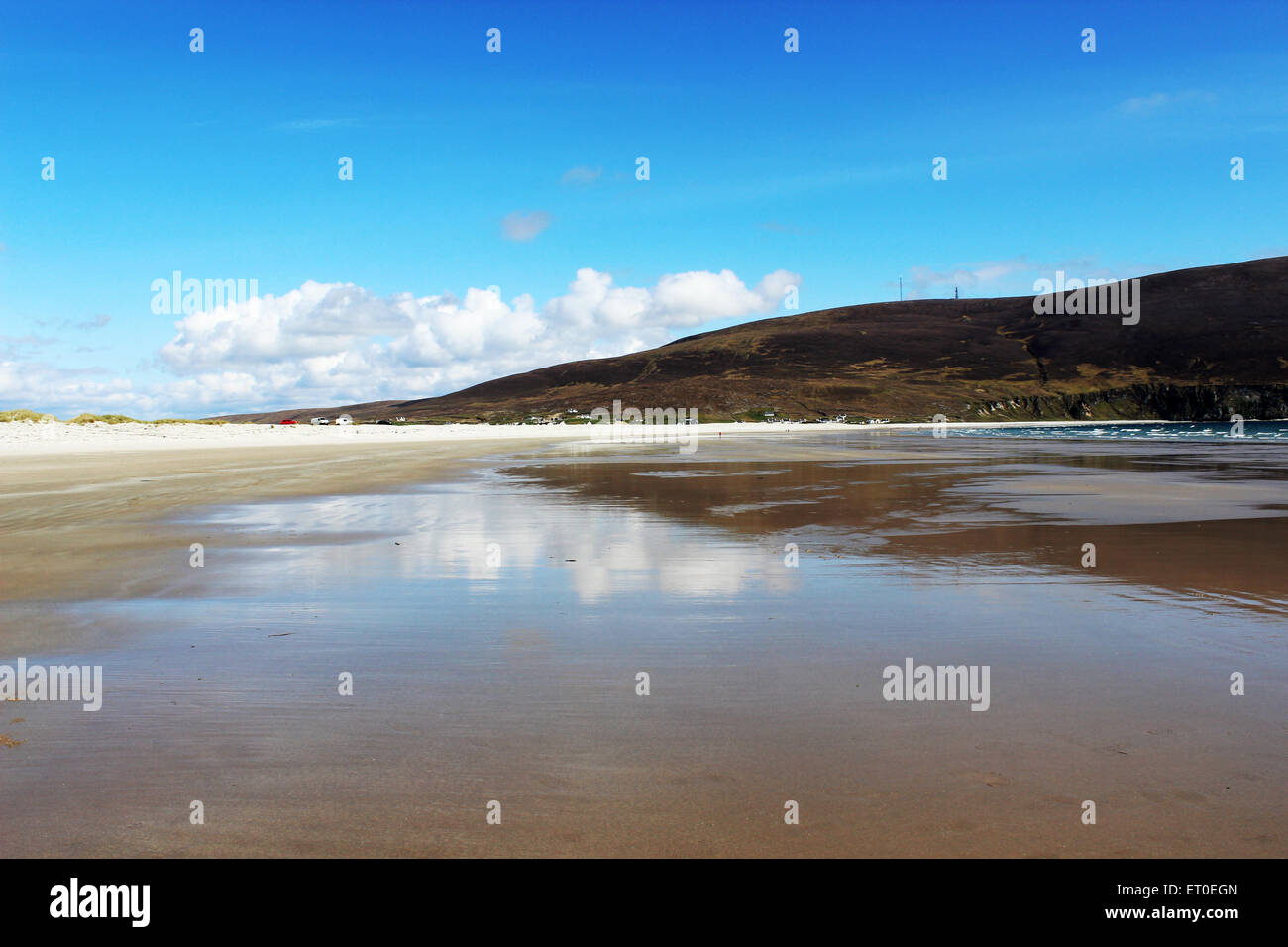 Irish beach, landscape - Stock Image