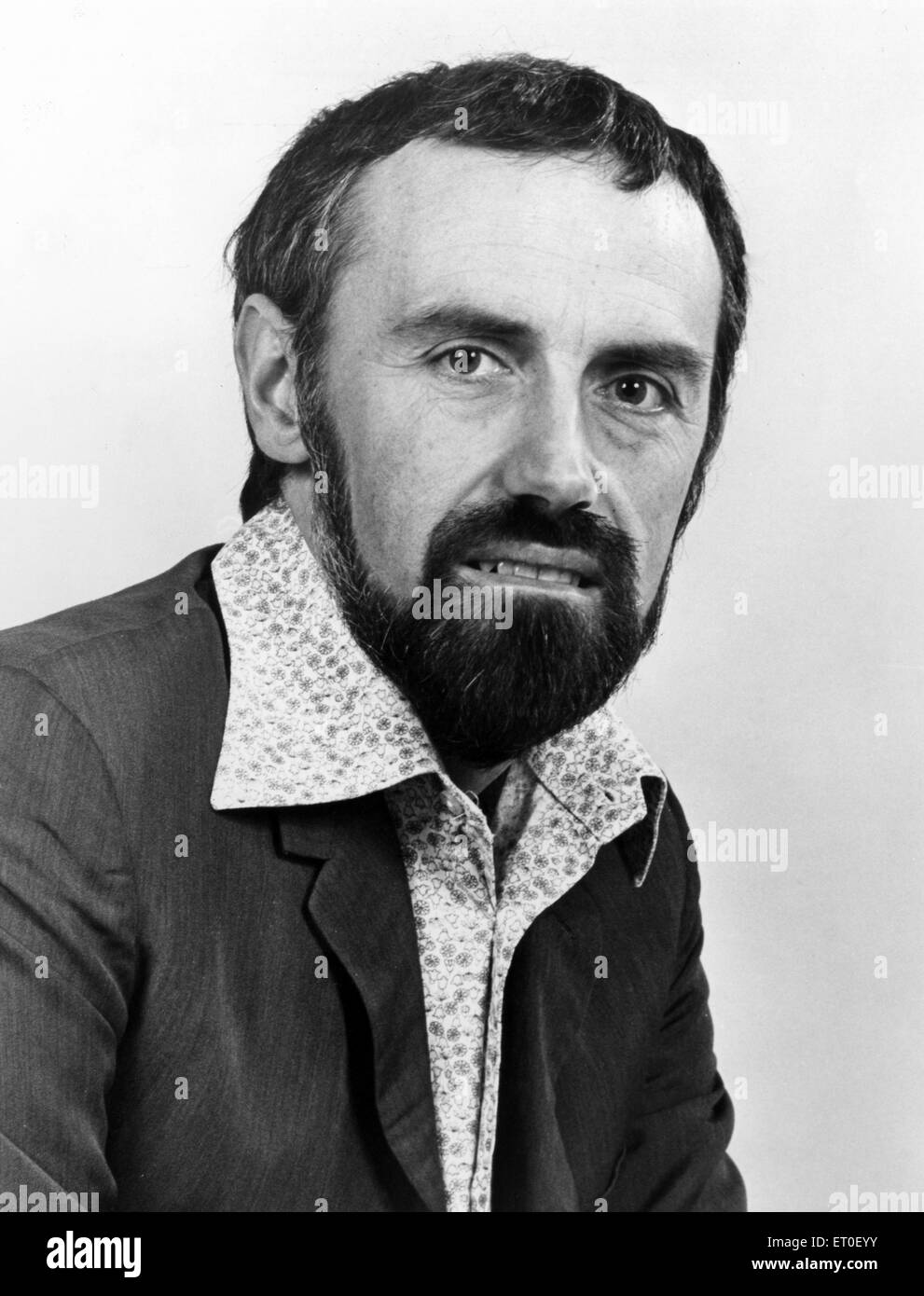 John Russell, BRMB Radio, Programme Director, 11th February 1979. - Stock Image