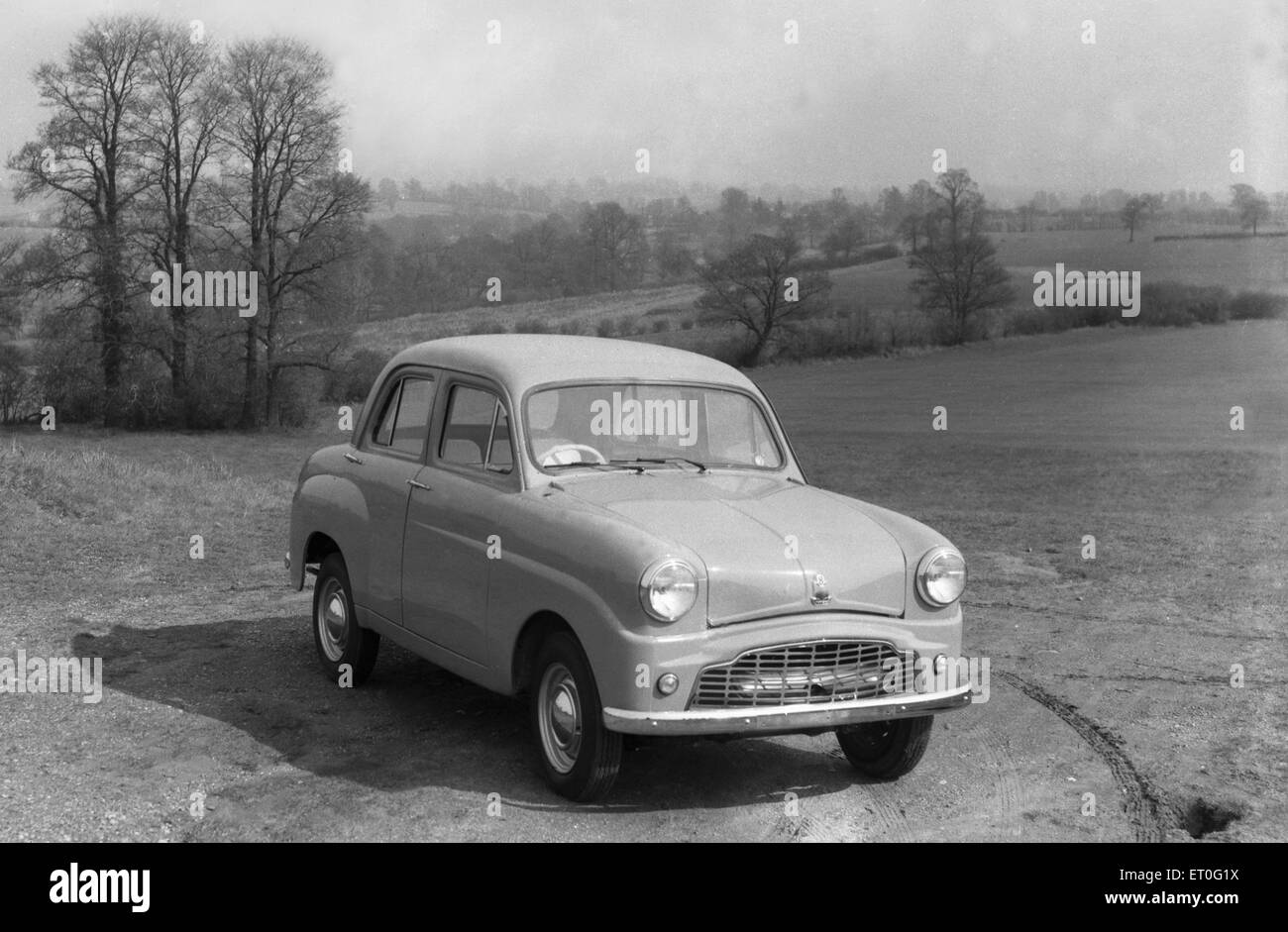 The new Standard 8 Gold Star model car Circa 1957 - Stock Image