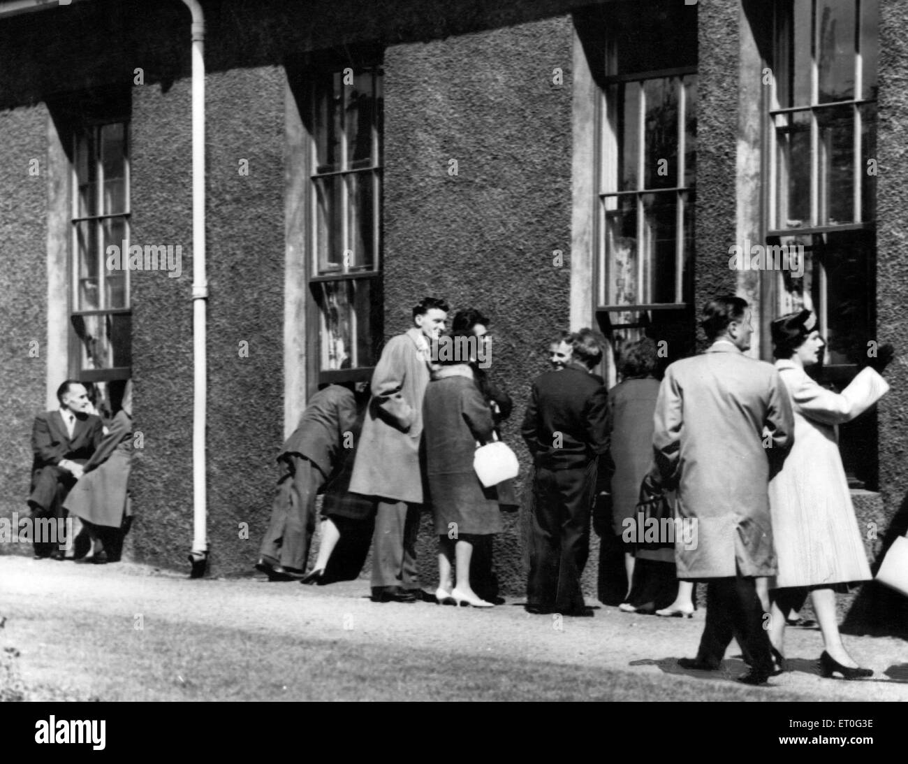 Typhoid outbreak. Aberdeen. Scotland. 1964. In 1964 there was an outbreak of typhoid in the city of Aberdeen, Scotland. - Stock Image