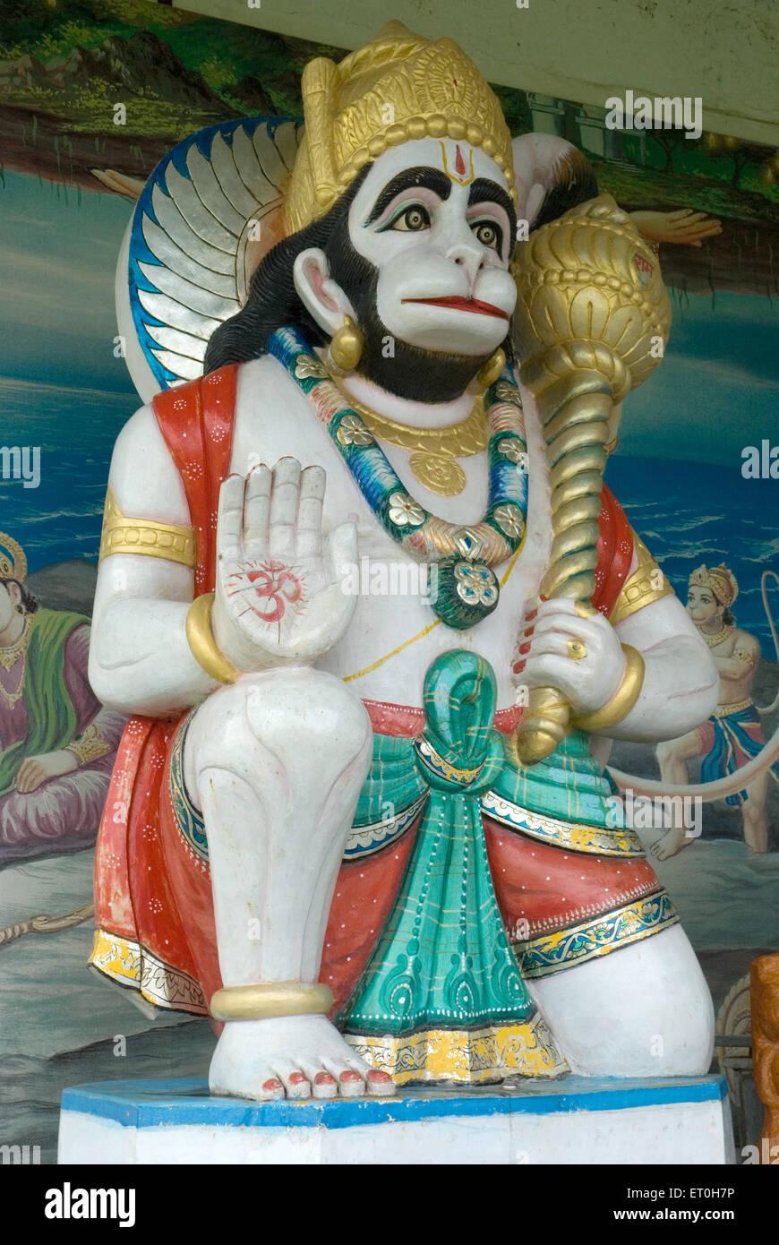 Statue of lord hanuman at Saralgaon