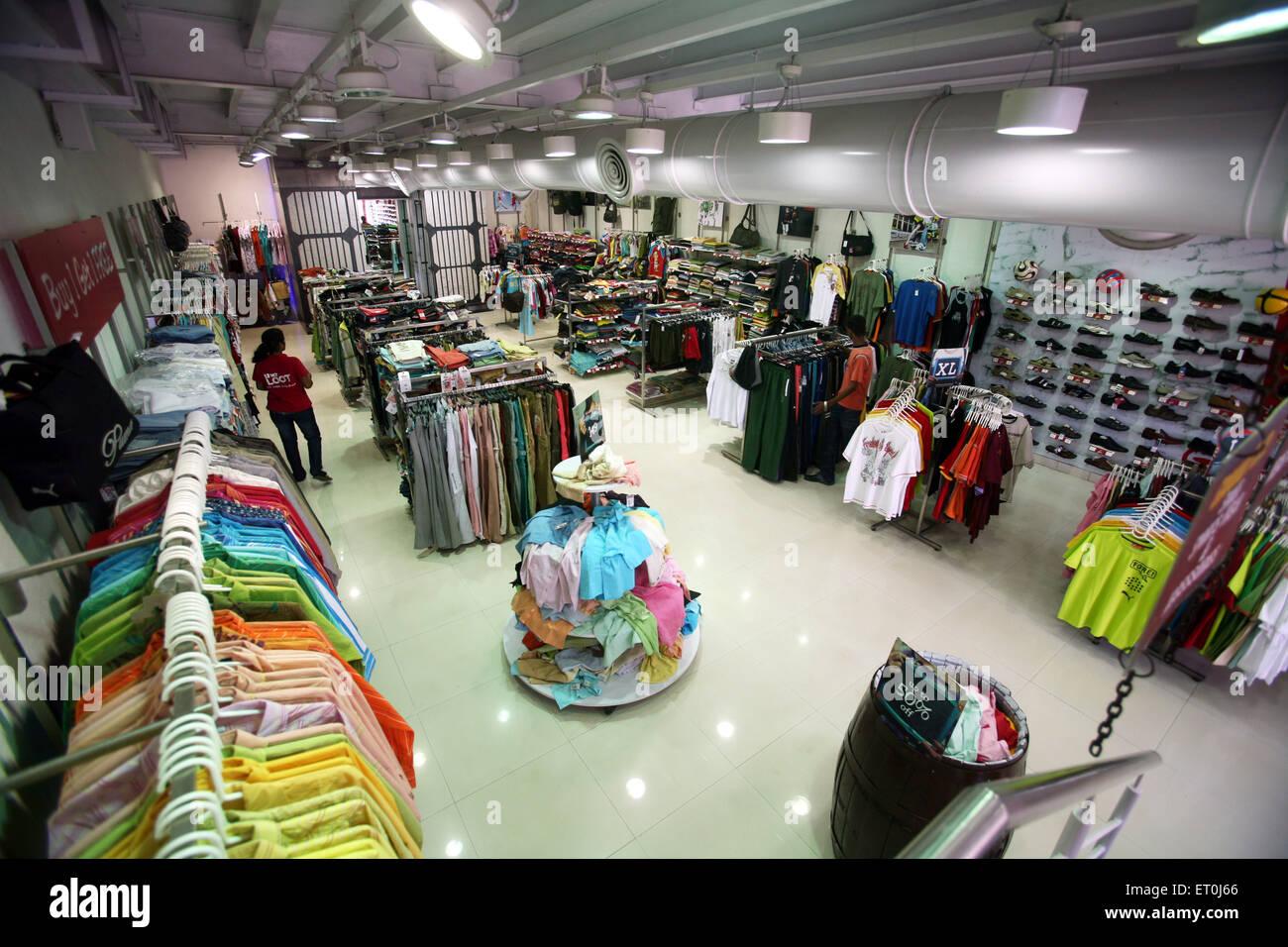 View of the Loot store located in Andheri ; Bombay Mumbai ; Maharashtra ; India - Stock Image