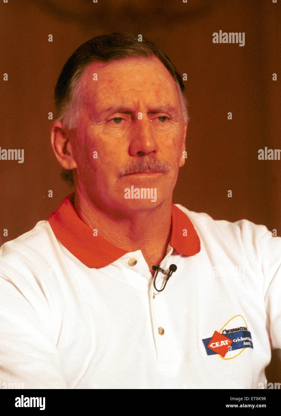 Ian Michael Chappell former cricketer who played for South Australia and Australia NO MR - Stock Image