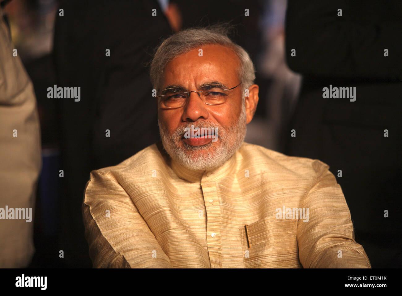 Narendra Modi Prime Minister of India - mpd 160160 - Stock Image
