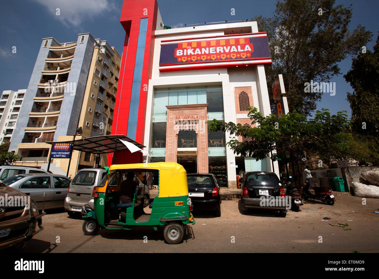 Showroom of sweet makers Bikanervala in Ahmedabad ; Gujarat ; India - Stock Image