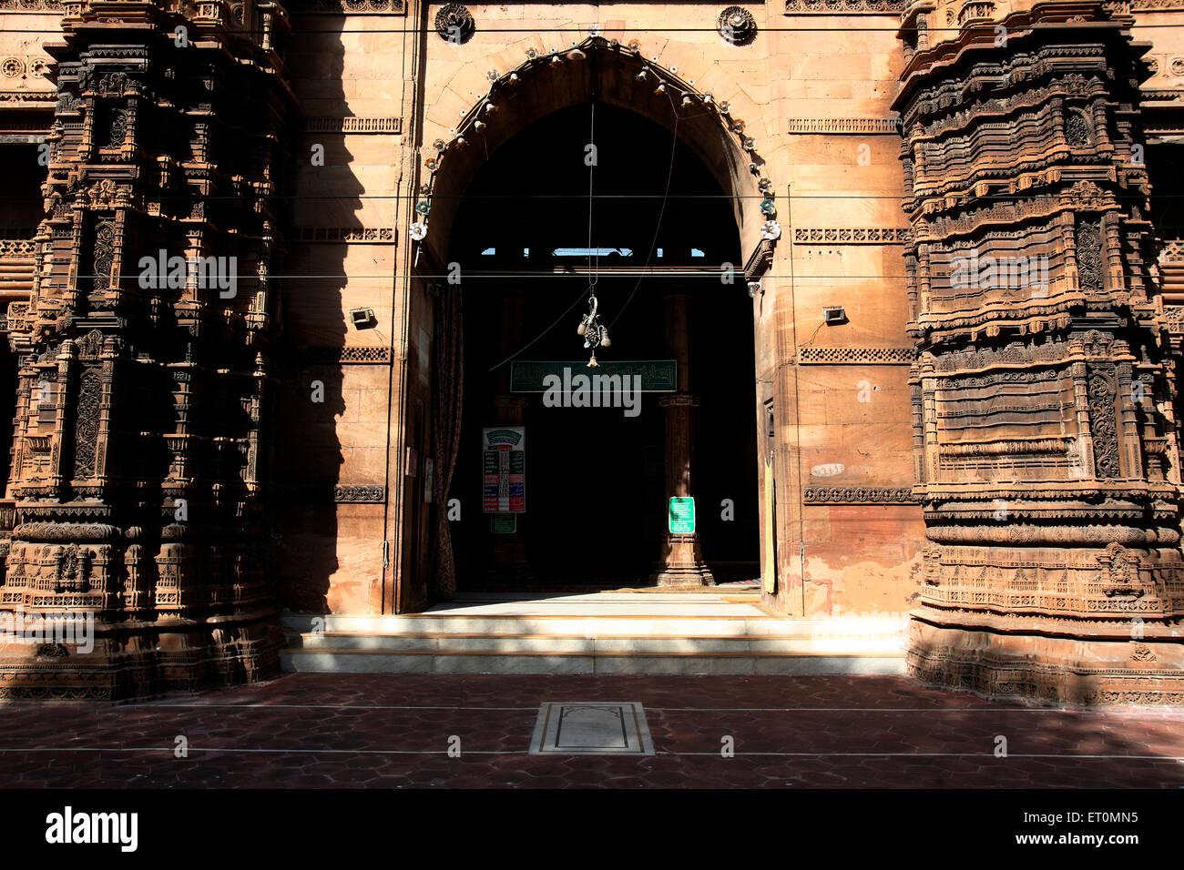 Rani Rupmati mosque established in 1430 1440 AD Ahmedabad  Gujarat ; India - Stock Image