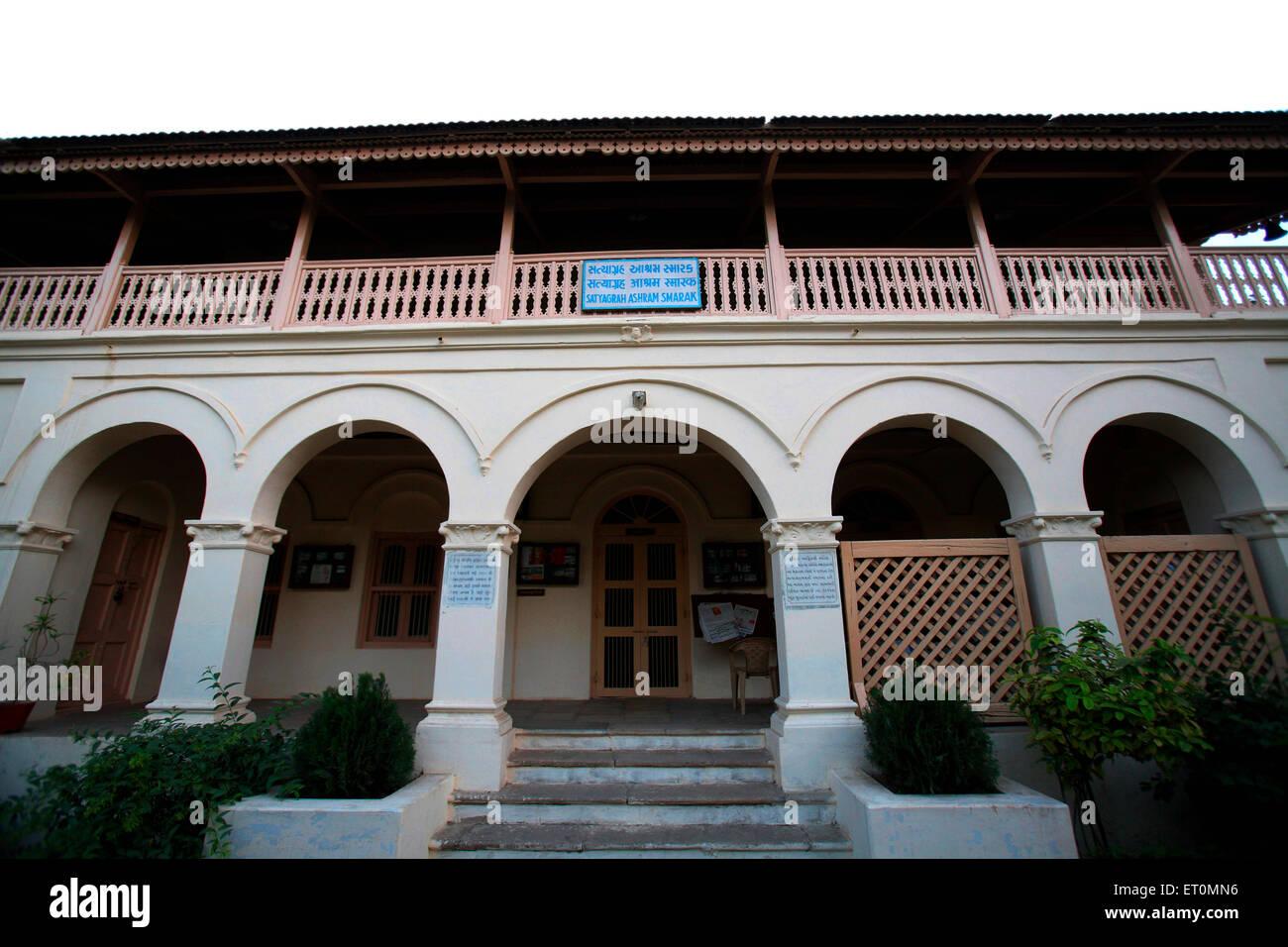Satyagraha Ashram founded in 25 May 1915 at Kochrab; Ahmedabad ; Gujarat ; India - Stock Image
