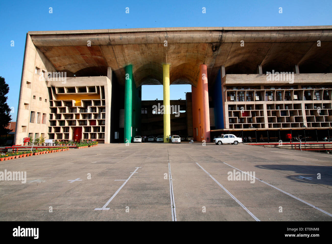 High court building of Chandigarh Union Territory  ; India - Stock Image
