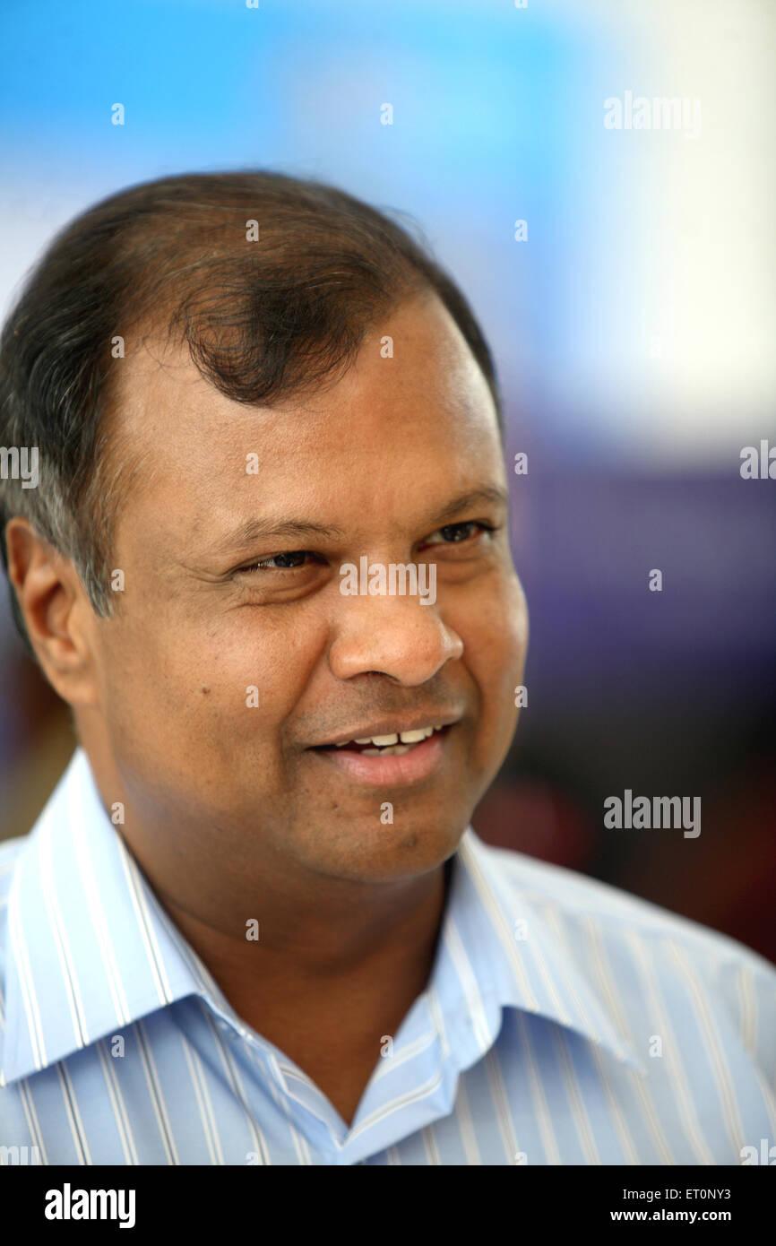 Anand Jain chairman of Jain corporation Limited NOMR - Stock Image