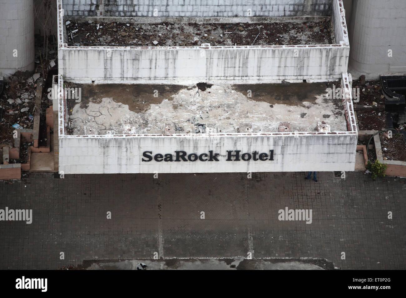 Hotel searock at band stand ; Bandra ; Bombay Mumbai ; Maharashtra ; India - Stock Image