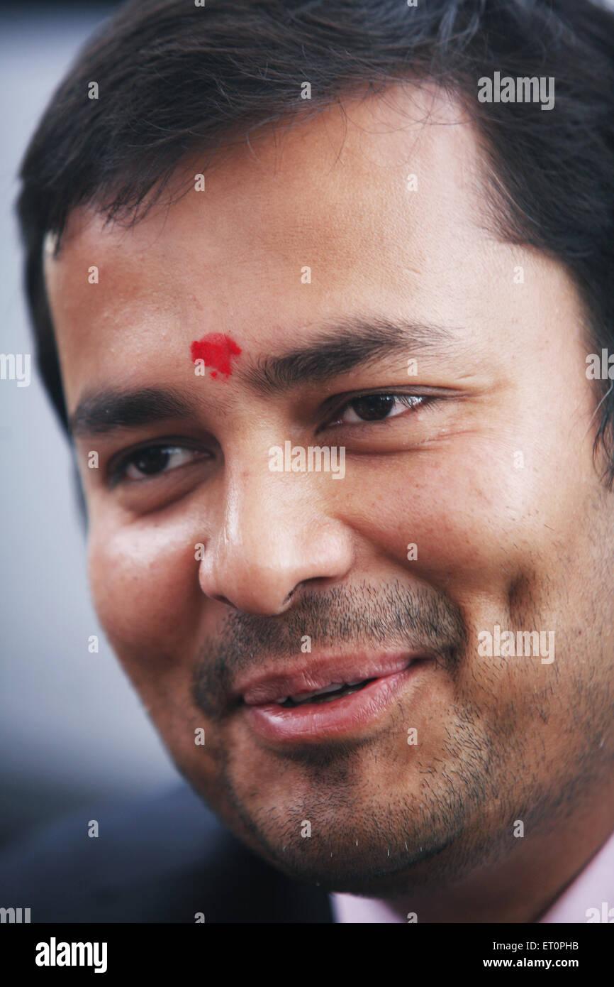 Close ups of seemanto roy ; Maharashtra ; India NOMR - Stock Image