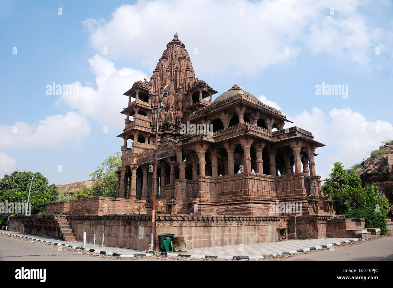 Deval ; Mandore ; Jodhpur ; Rajasthan ; India Stock Photo
