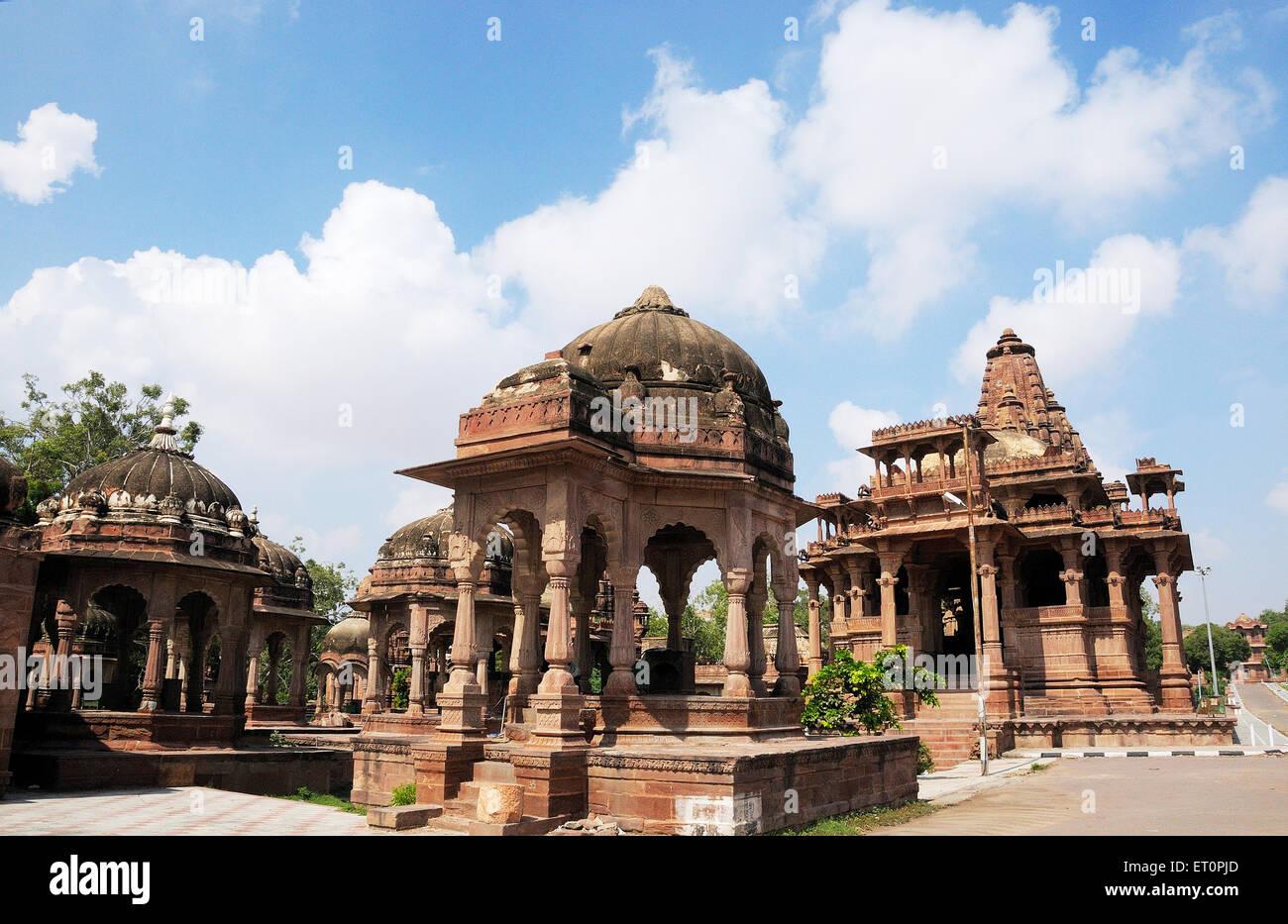 Deval ; Mandore ; Jodhpur ; Rajasthan ; India Stock Photo