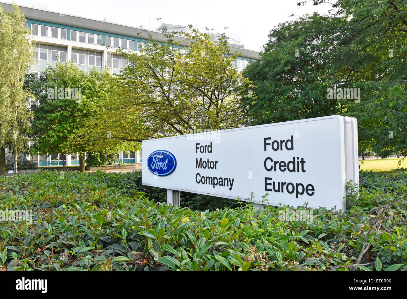 office building of ford motor company and ford credit europe at