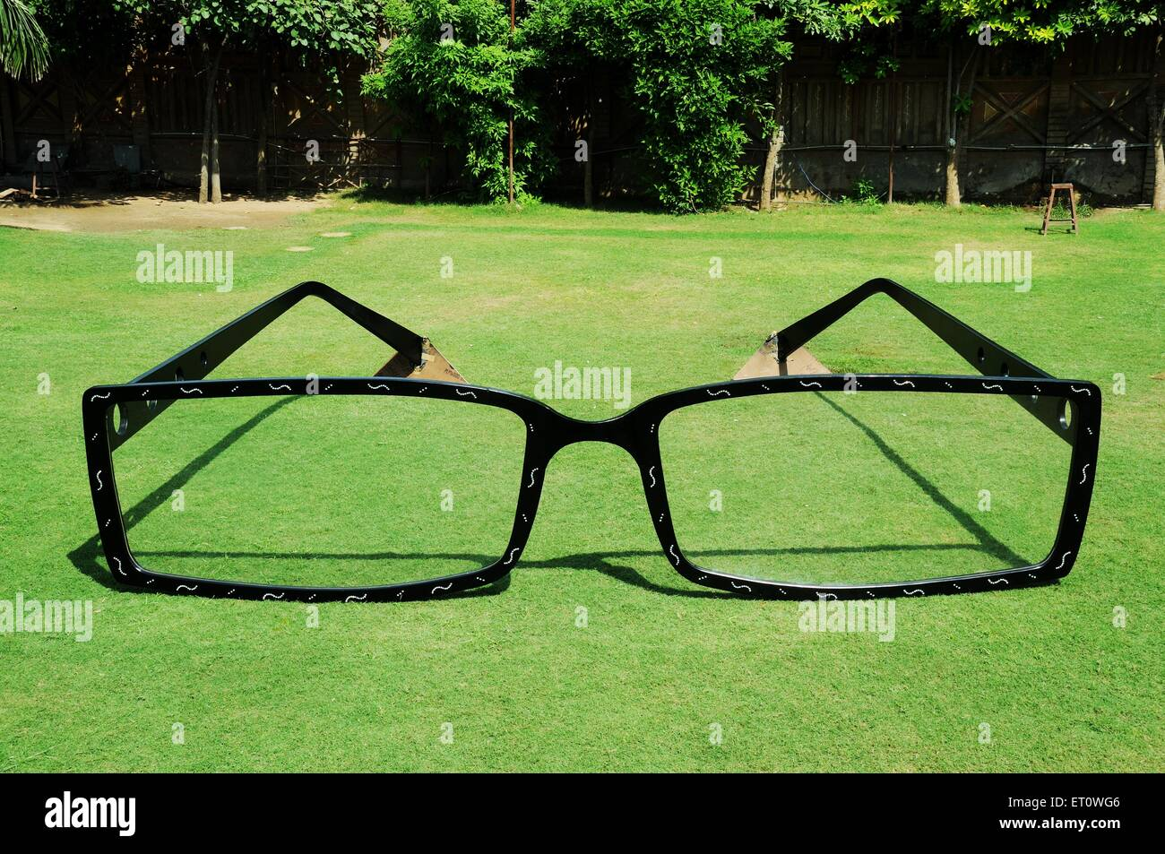 Spectacle in Garden ; India - Stock Image