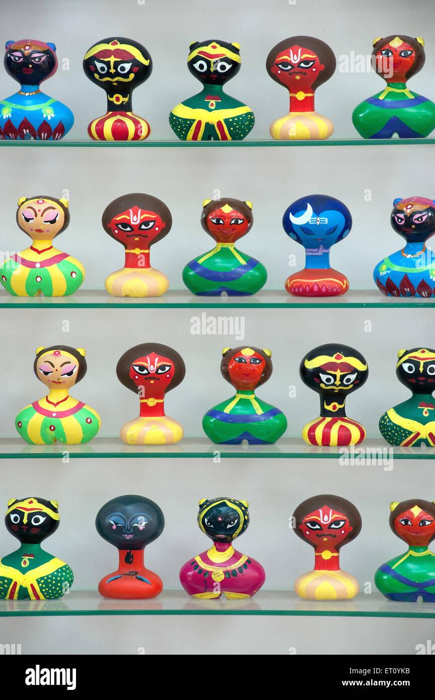 Statues at Kala Ghoda art festival ; Bombay Mumbai ; Maharashtra ; India - Stock Image