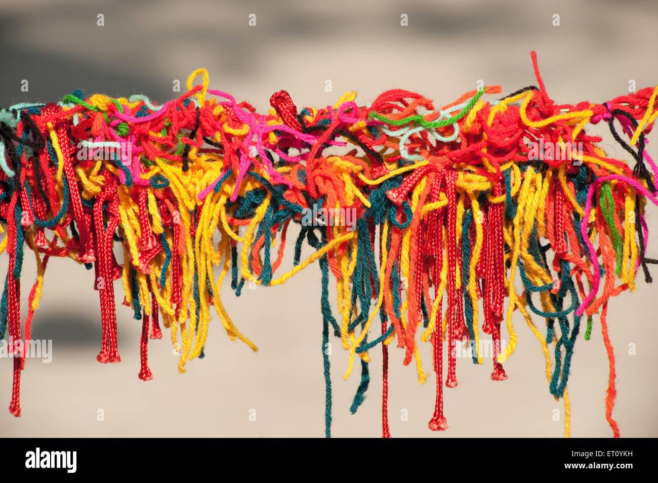 Strings knot at Kala Ghoda art festival 2010 ; Bombay Mumbai ; Maharashtra ; India - Stock Image