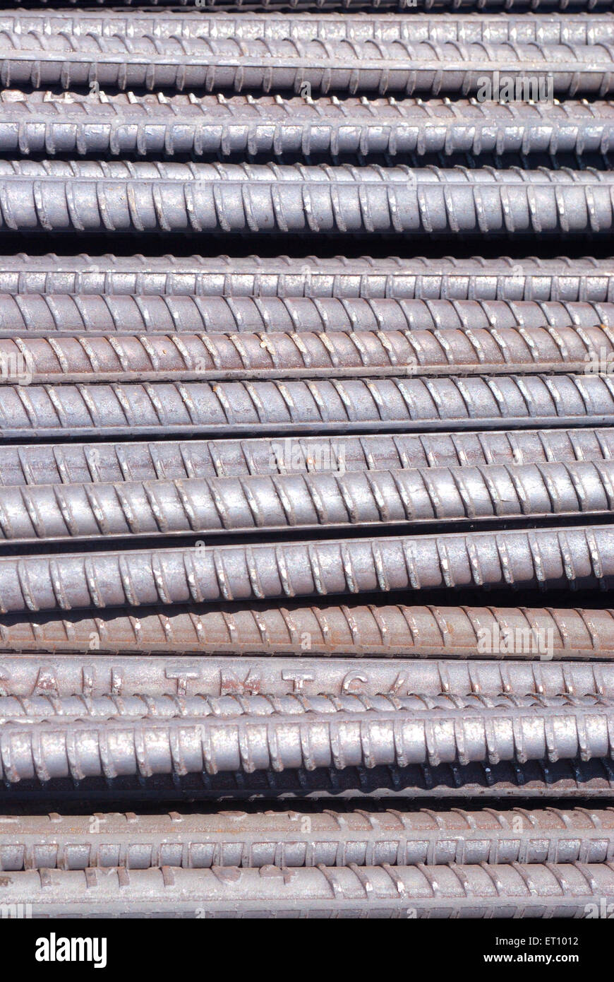 Steel bars - Stock Image