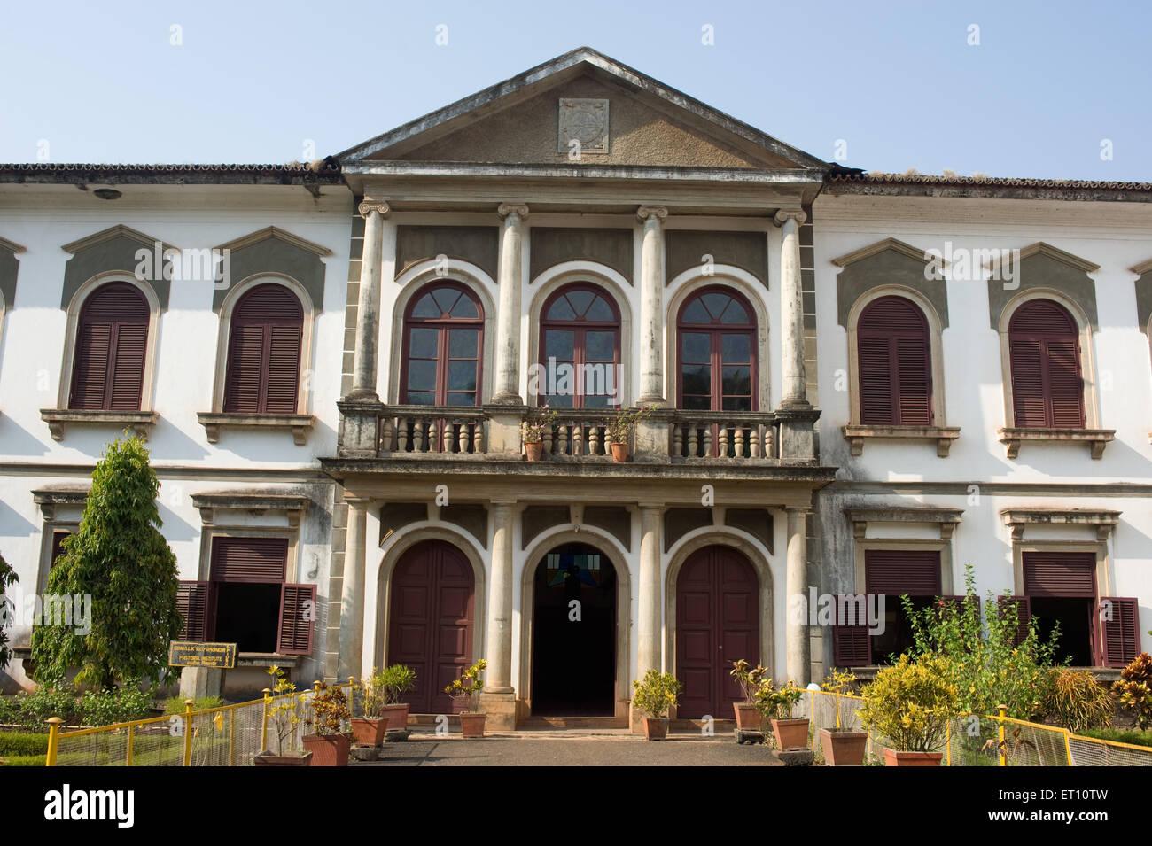 Gonvllik Vidyamandir Pastoral Institute Church of St Cajetan Panjim Goa India Asia 2011 - Stock Image