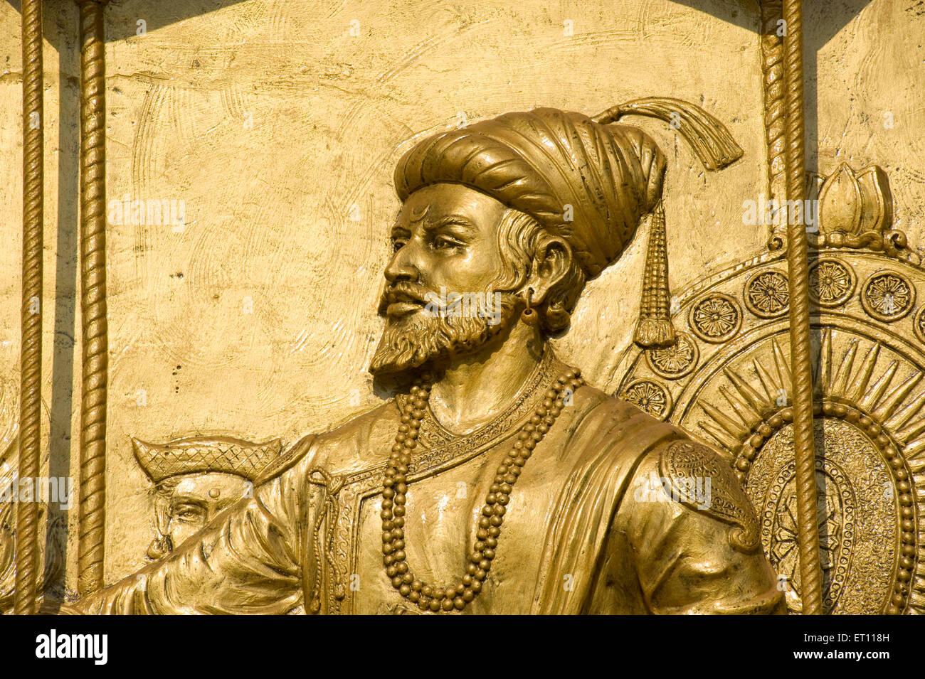 Sivaji Maharaj: Shivaji Maharaj Statue India Stock Photos & Shivaji