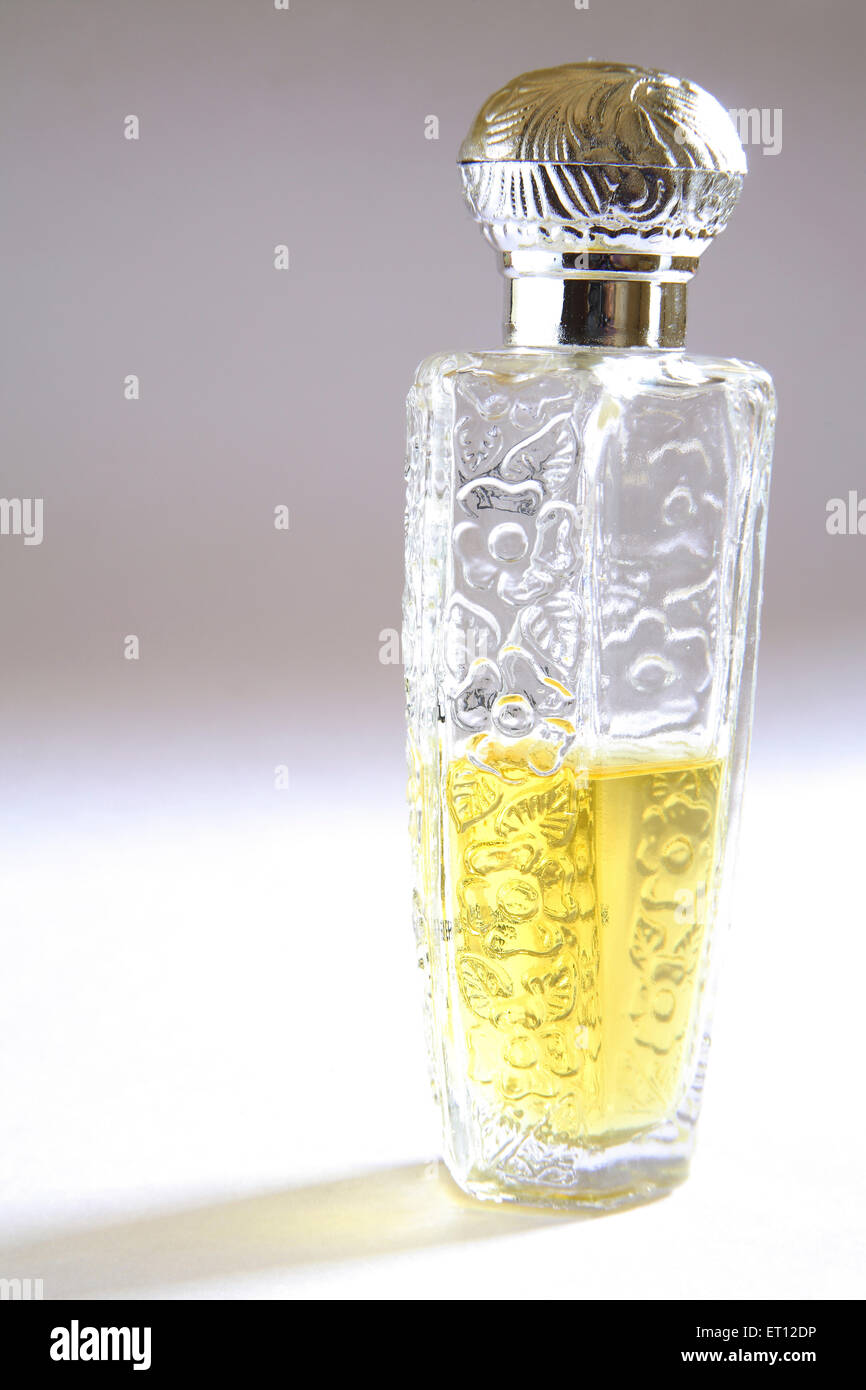 Itra ; essence ; perfume bottle  ; India - Stock Image