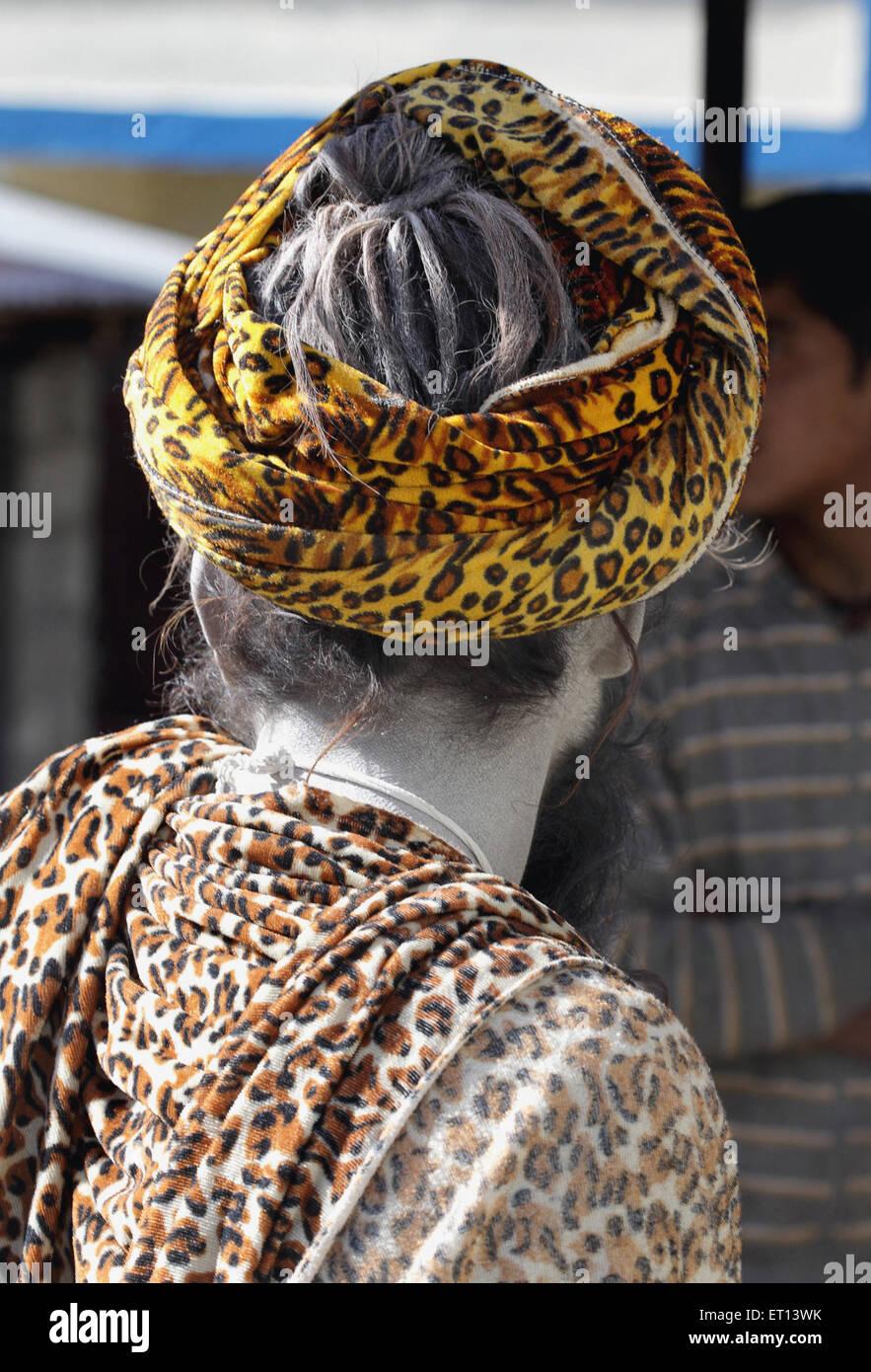 Sadhu ; Kedarnath ; Uttaranchal Uttarakhand ; India - Stock Image