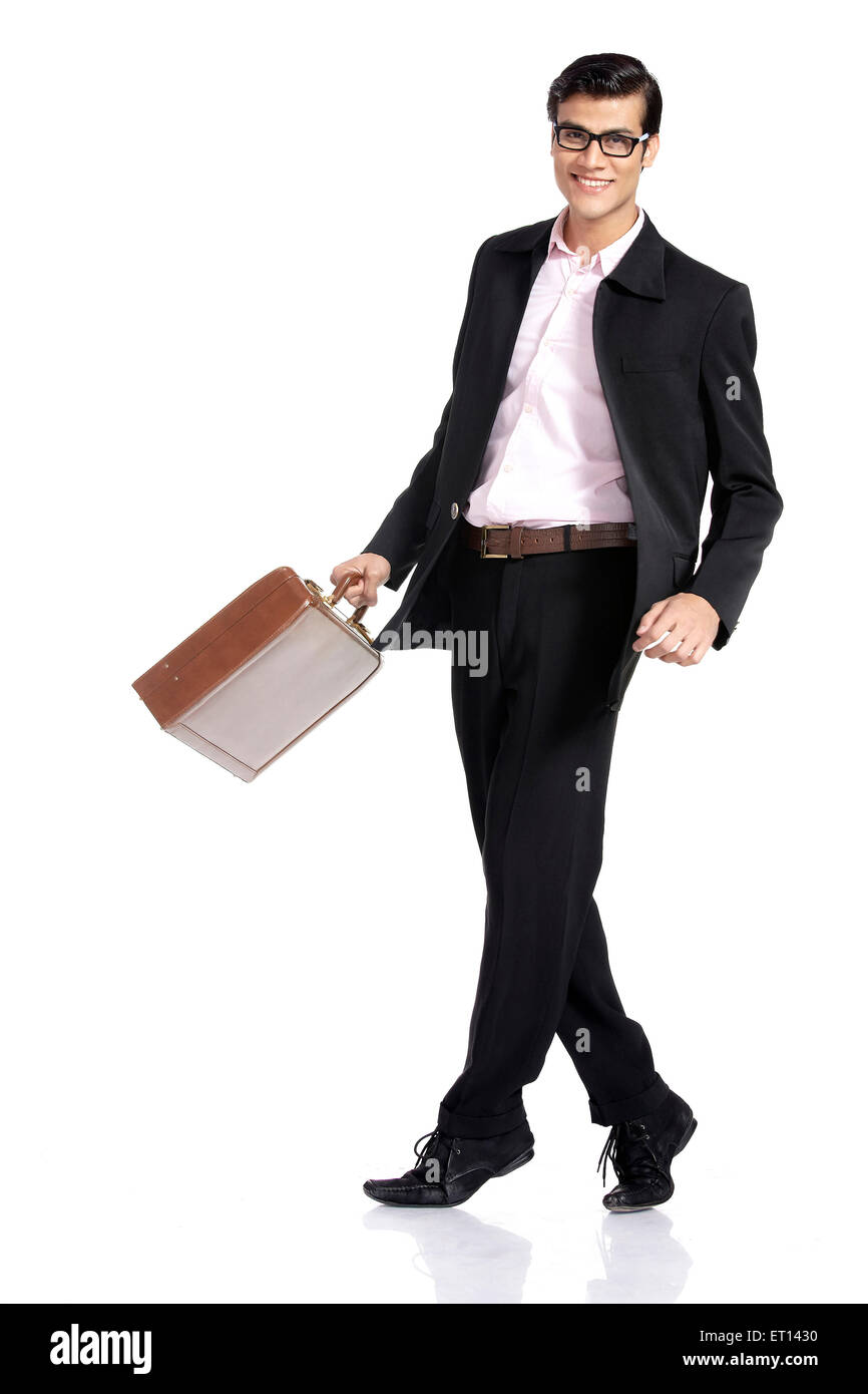 Businessman Standing In Pose India Asia MR#790E - Stock Image