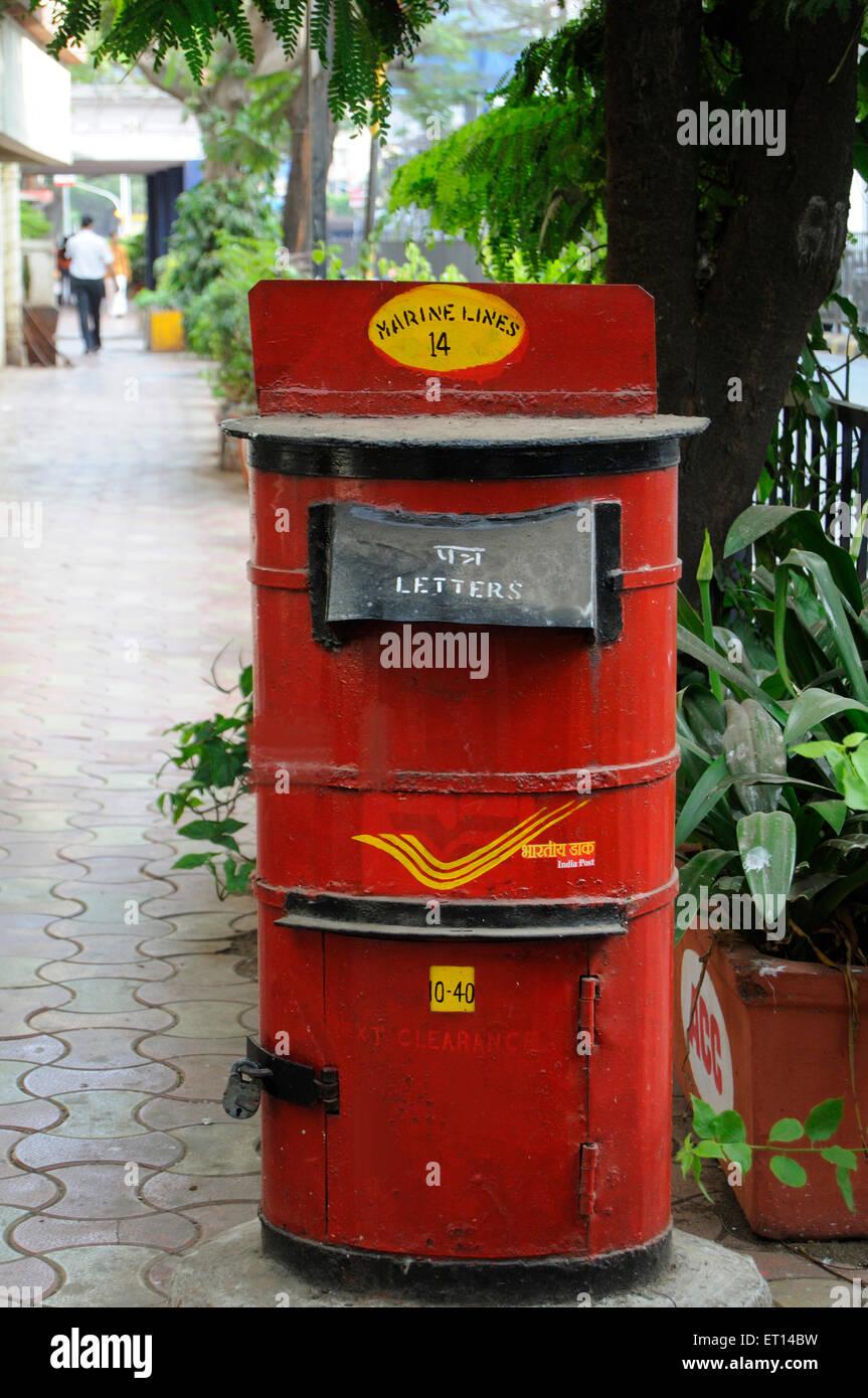 Postbox - Stock Image