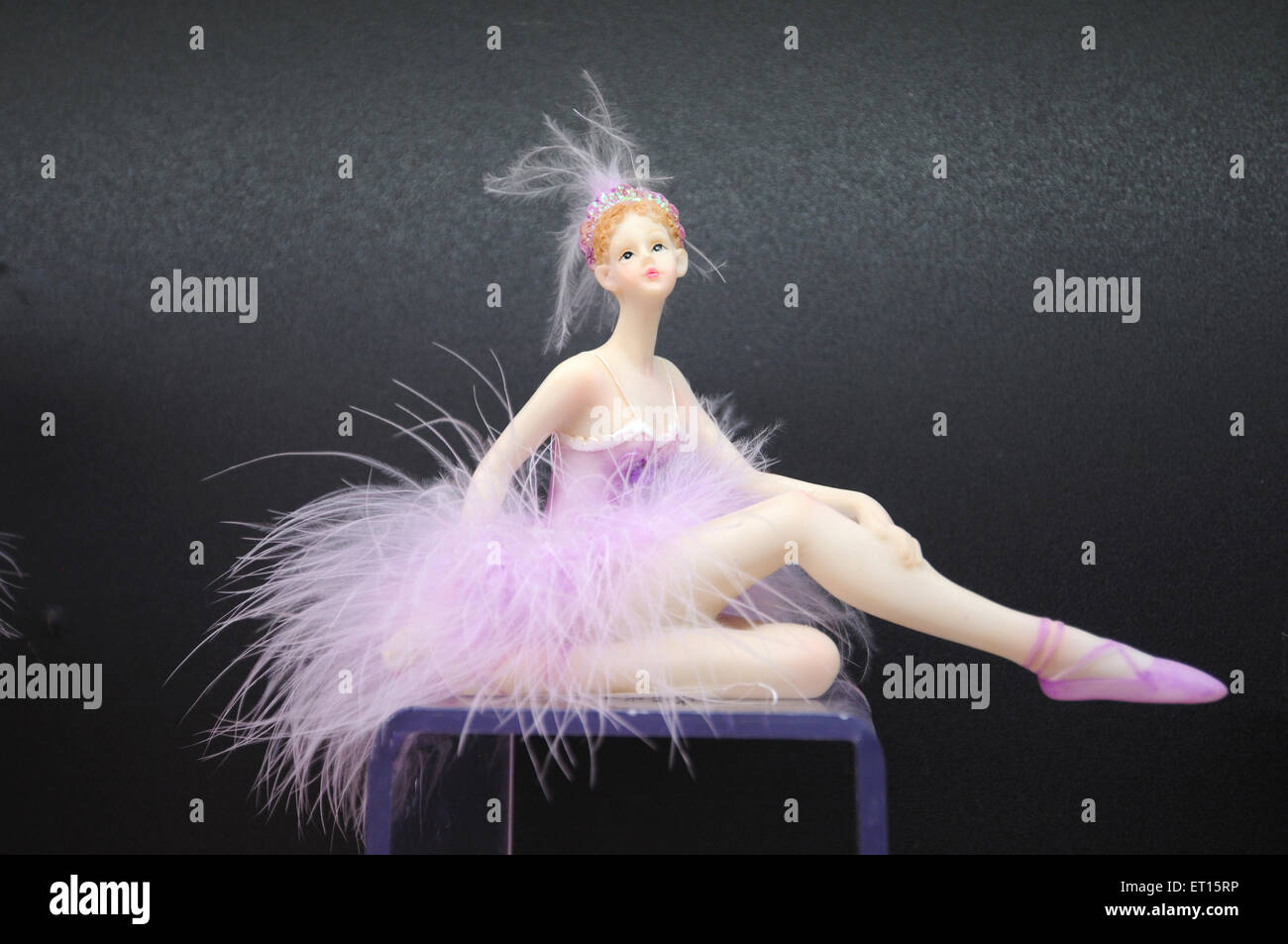 Display of doll in chinese shop ; Yiwu ; China - Stock Image