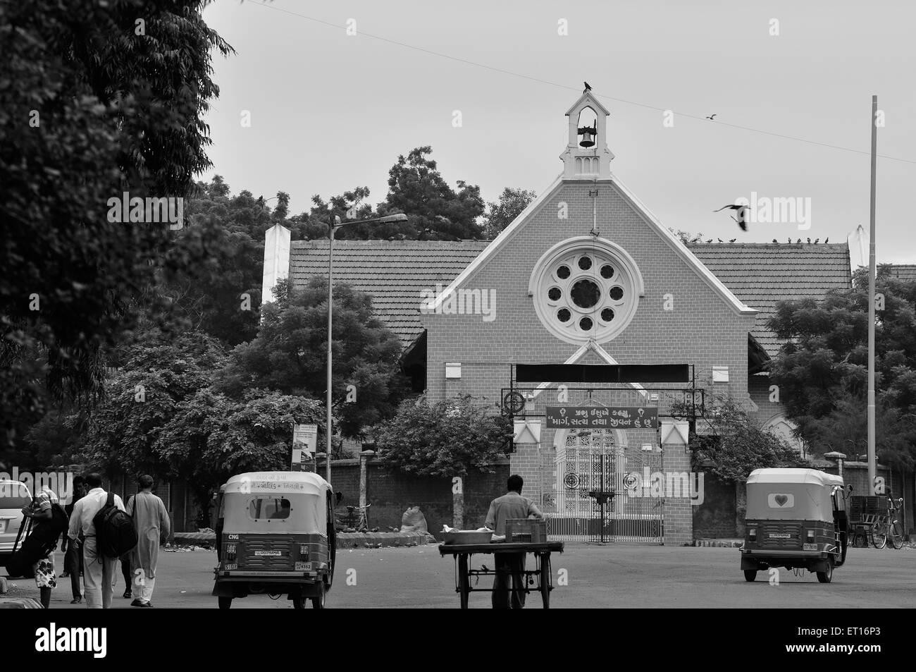 CNI Church Raikhad Near Ellis Bridge Ahmedabad Gujarat India Asia - Stock Image