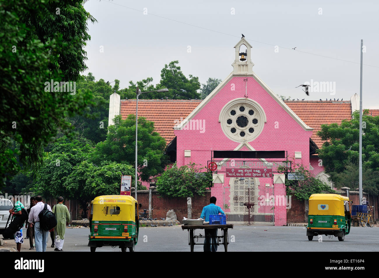 CNI Church Raikhad Near Ellis Bridge Ahmedabad Gujarat India Asia - Stock Image