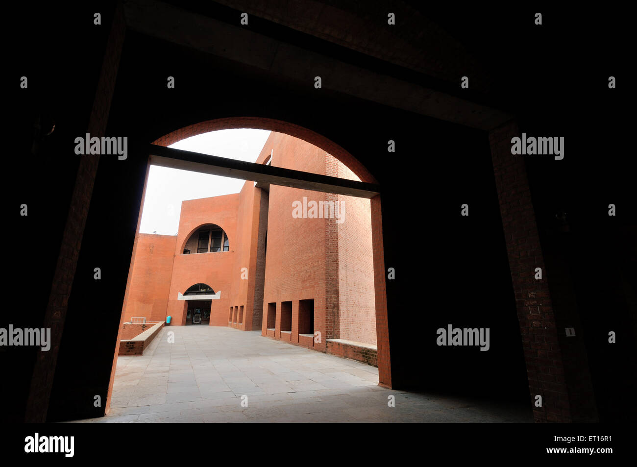 Indian Institute of Management Ahmedabad Gujarat Indian Asia - Stock Image