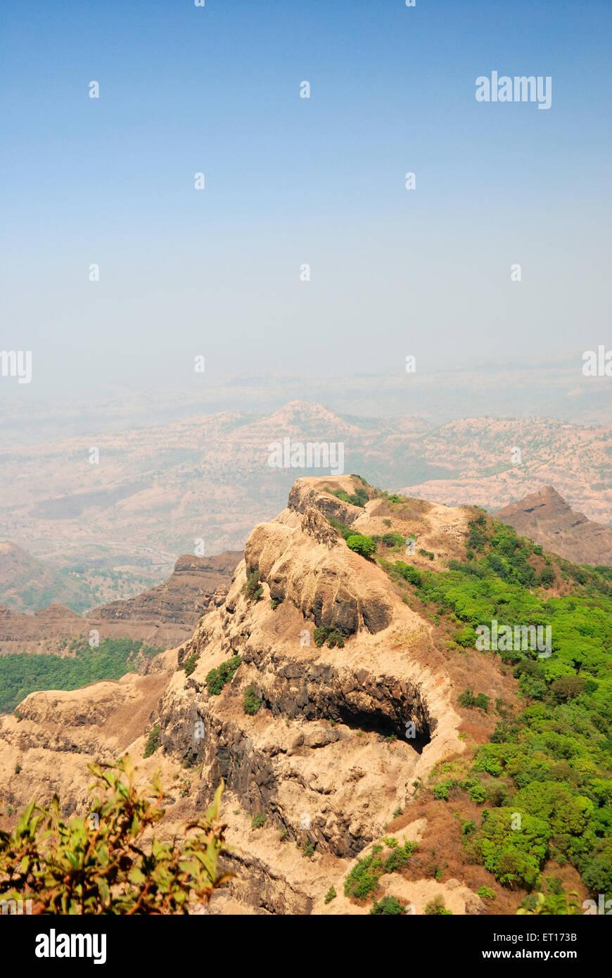 Arthur Seat Point ; Mahabaleshwar ; Maharashtra ; India - Stock Image