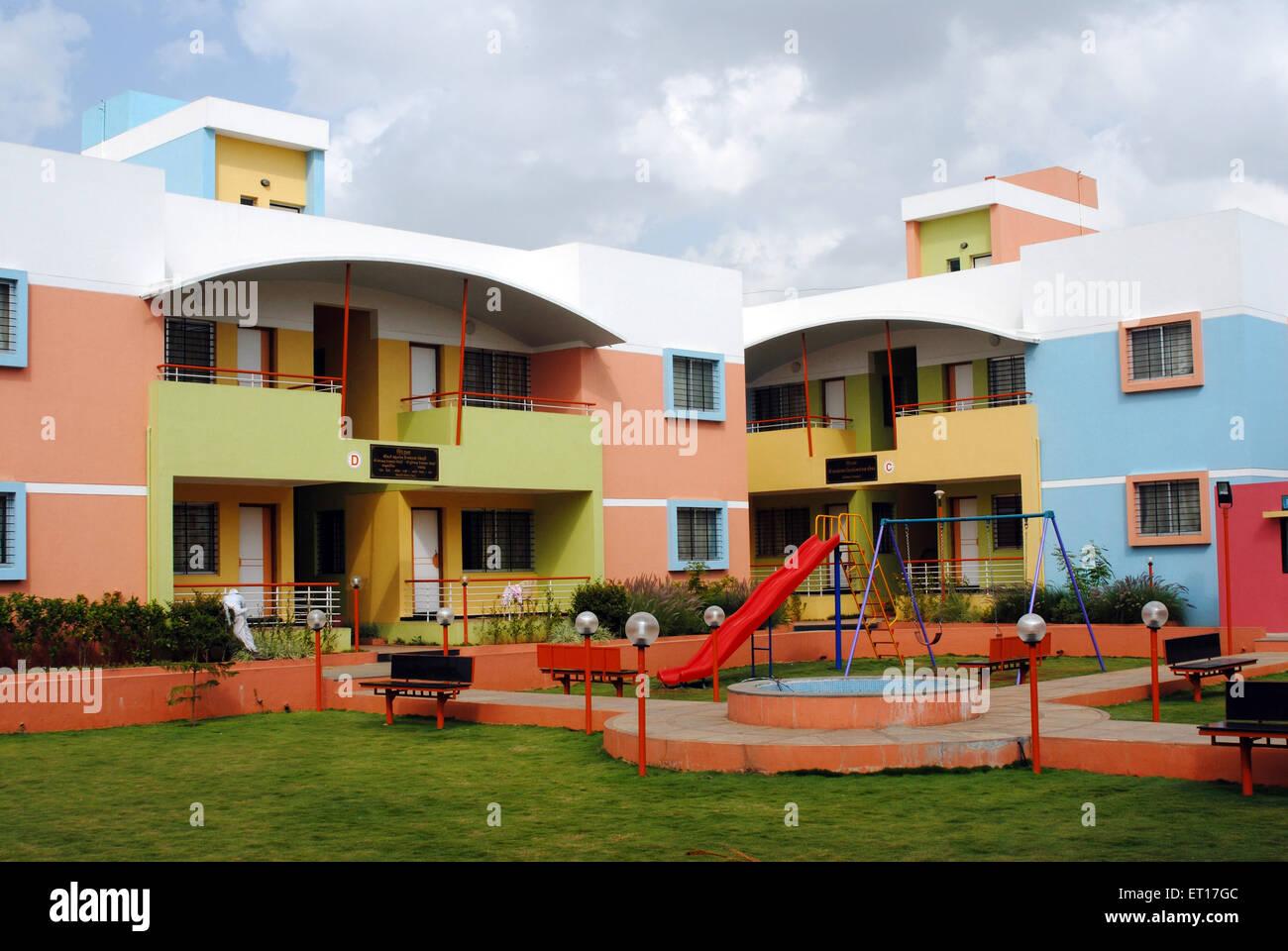 Rest house ; Nasik ; Maharashtra ; India ; NO PR - Stock Image
