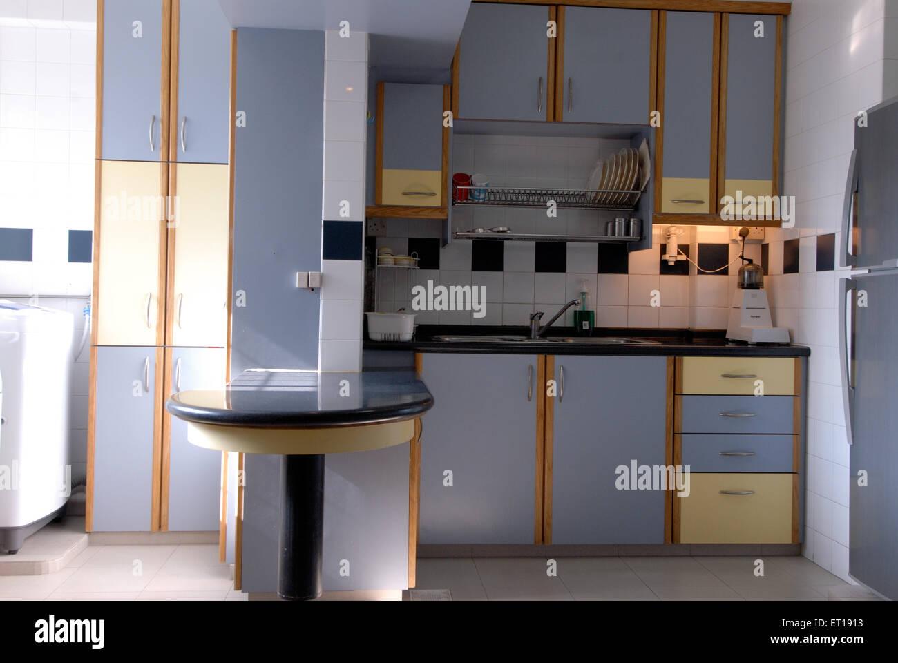 Interior of kitchen - Stock Image