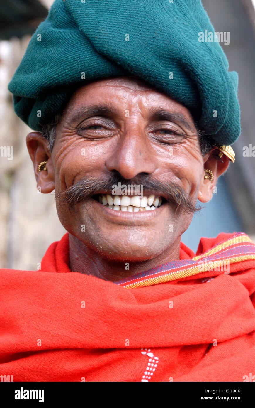 Shepherd looking at camera ; India MR#781T - Stock Image