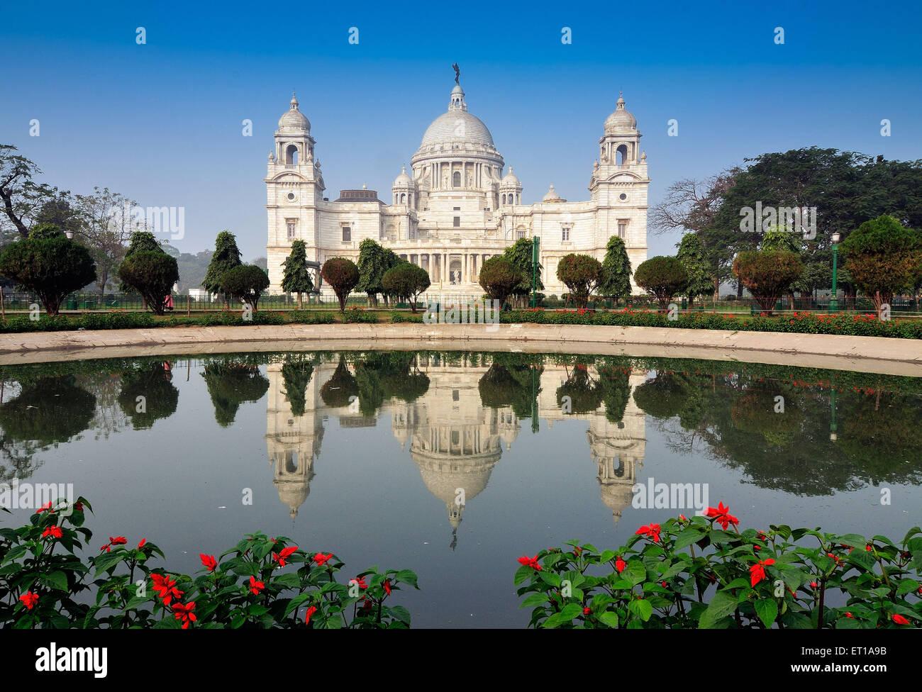 Victoria Memorial Kolkata India Asia - Stock Image