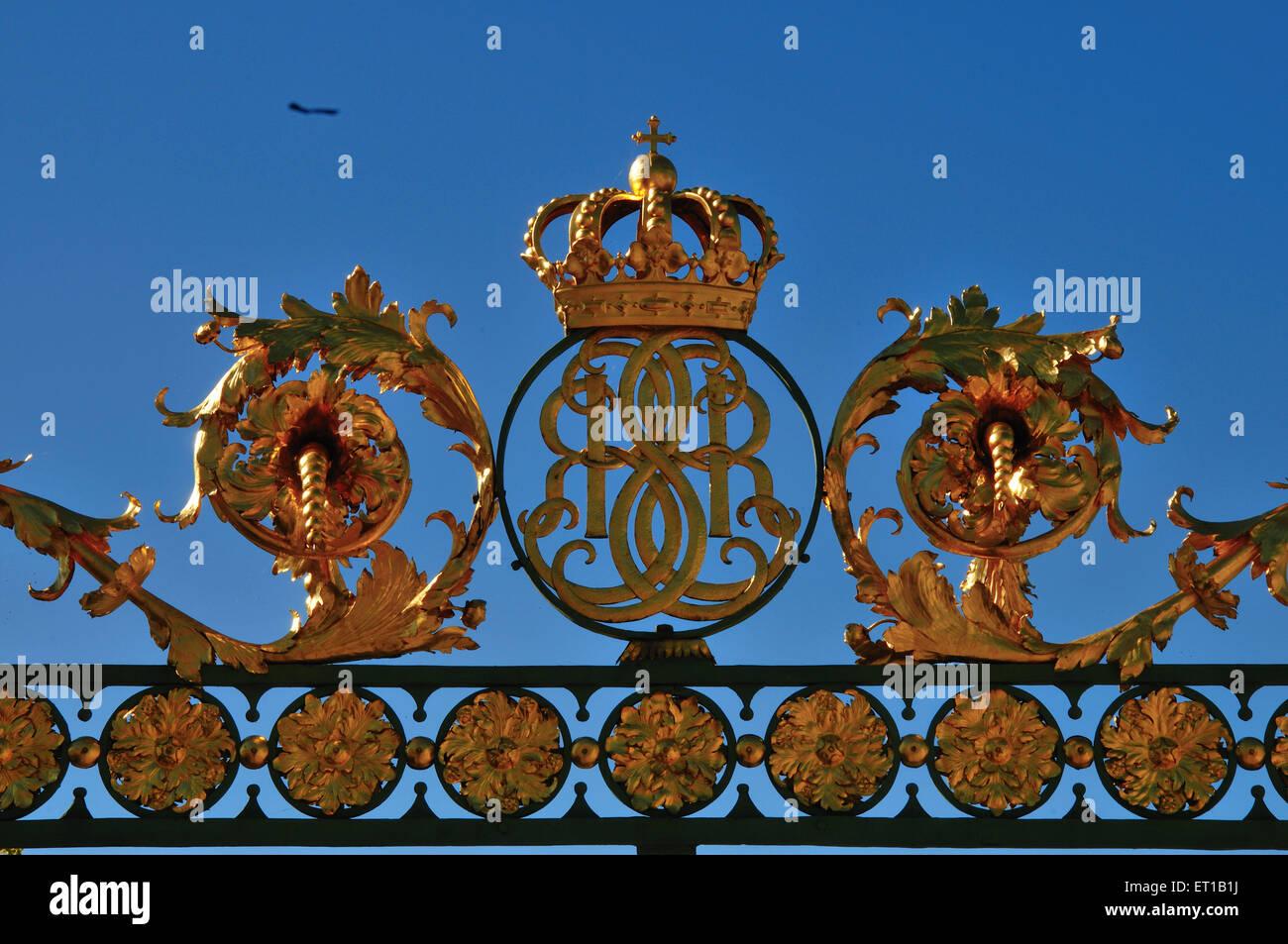Drottningholm Palace Sweden - Stock Image