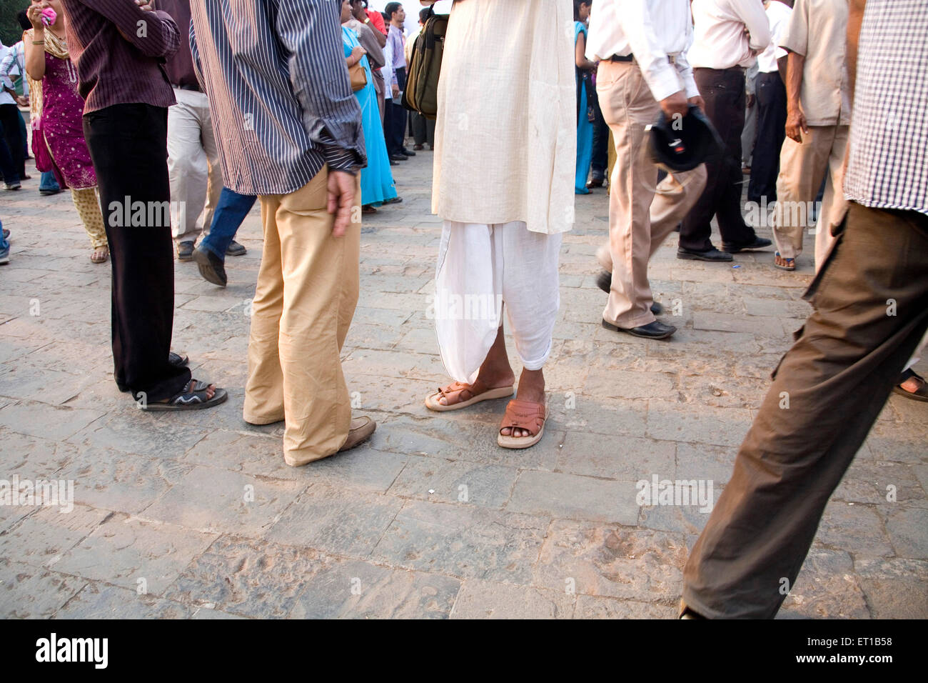 3rd December ; people Gateway protesting against terror attacks on 26th November 2008 in Bombay - Stock Image