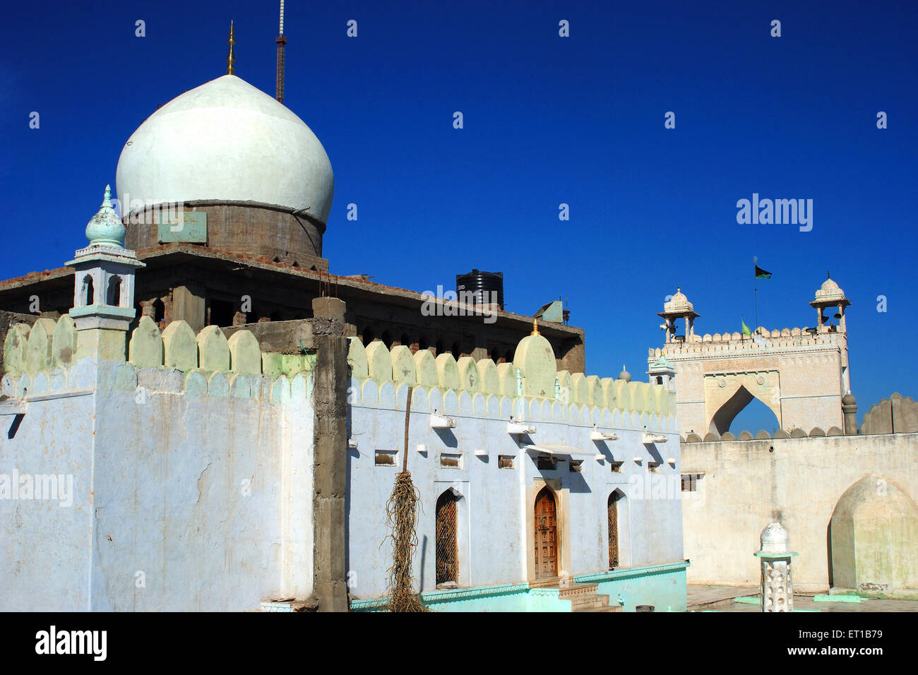 Ajmer dargah ajmer shrine stock photos ajmer dargah ajmer shrine dargah taragarh ajmer rajasthan india stock image thecheapjerseys Image collections