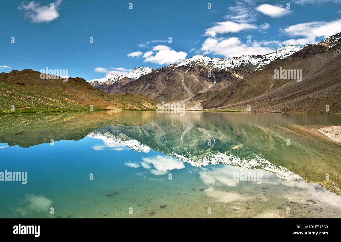 Chandra Taal Himachal Pradesh India Stock Photo