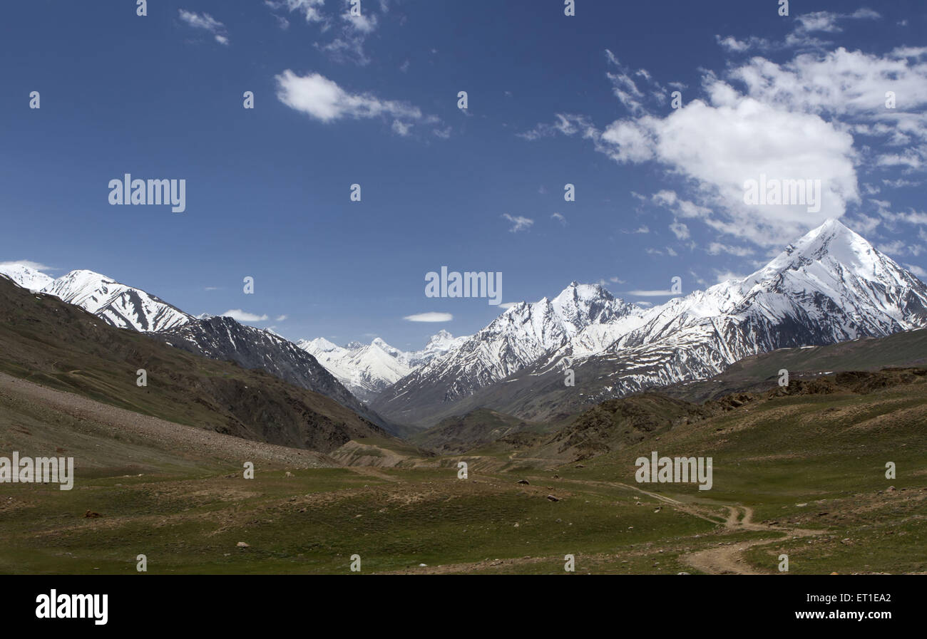 Chandra Taal Himachal Pradesh India - Stock Image