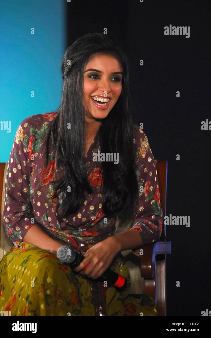 Actress asin ; India NO MR - Stock Image